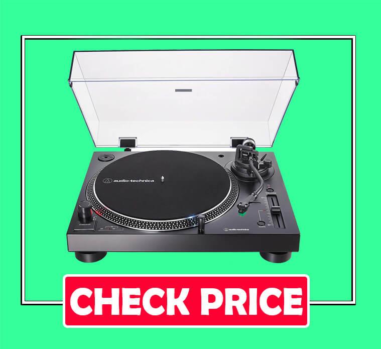 Audio-Technica AT-LP120XUSB-BK Fully Manual Turntable
