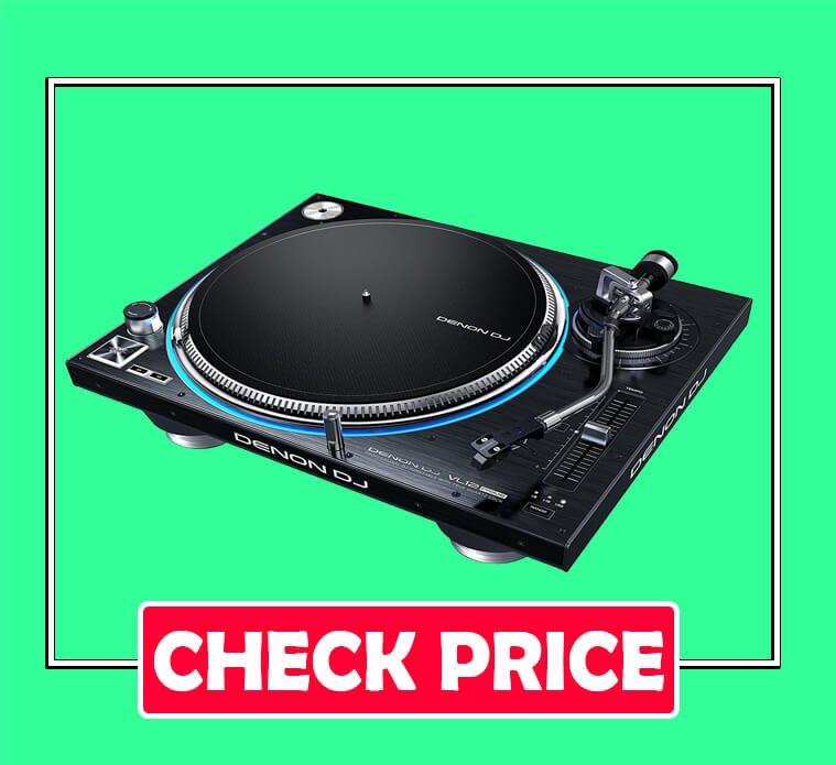 Denon DJ VL12 PRIME Professional Turntable