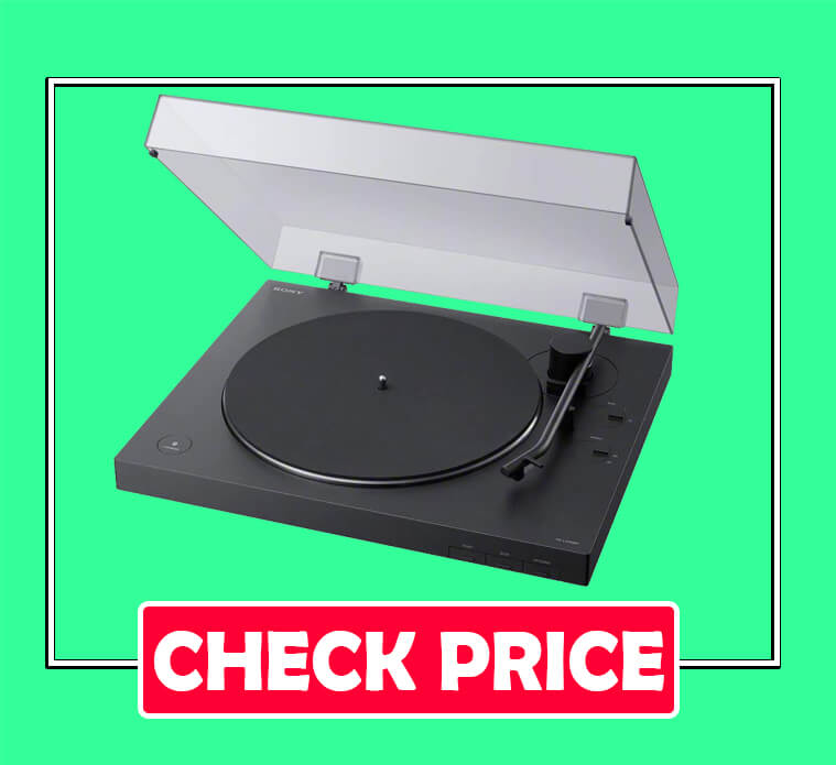 Sony PS-LX310BT Fully Automatic Belt Drive Turntable