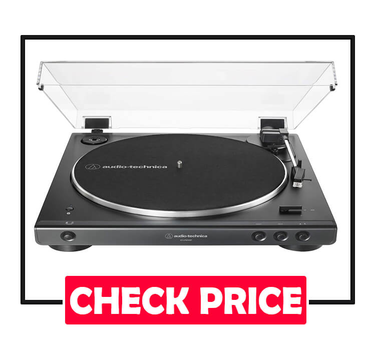 Audio-Technica AT-LP60XBT-BK Fully Automatic Wireless Turntable