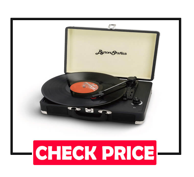 Byron Statics 3 Speed Turntable