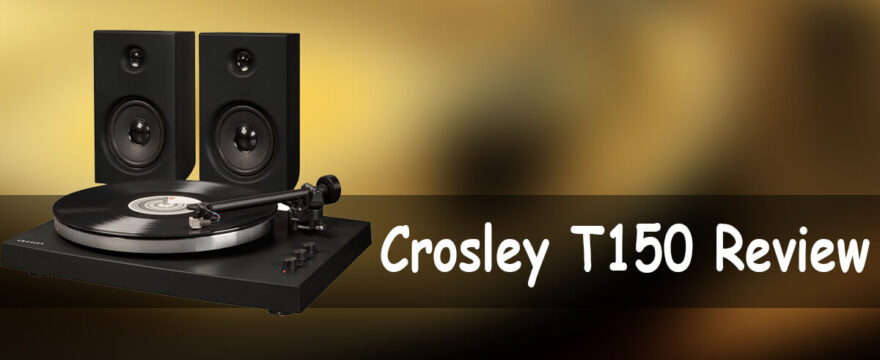 Crosley T150 Modern Bluetooth Turntable